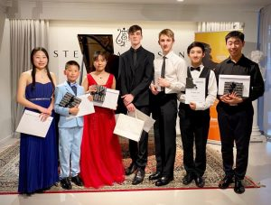 NZ Junior Piano Competition – Chiron Prize Winners