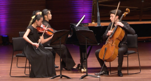 Prize-winning performance by Trio Achilles